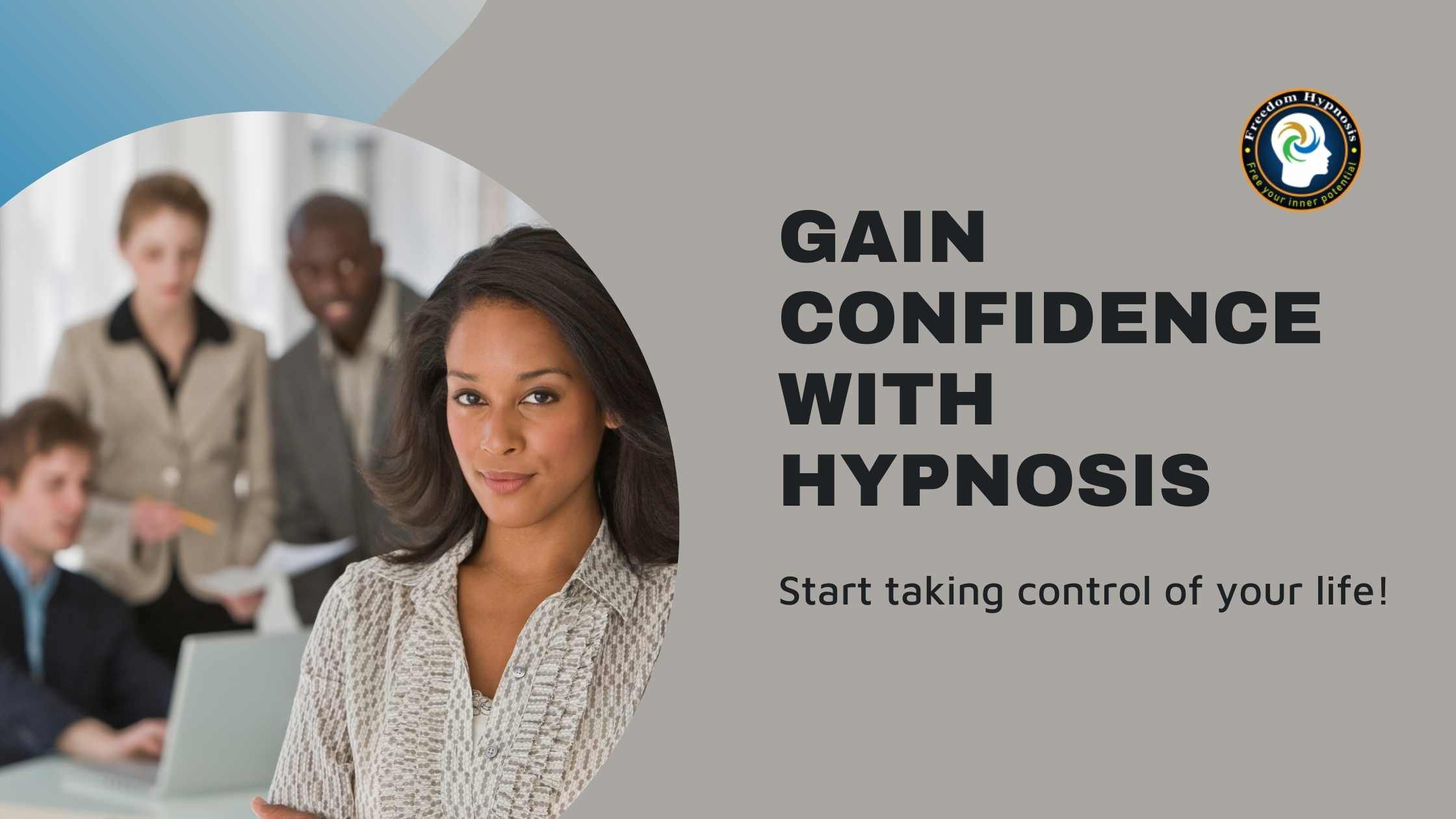 woman confident to face the workforce with help of hypnosis NYC