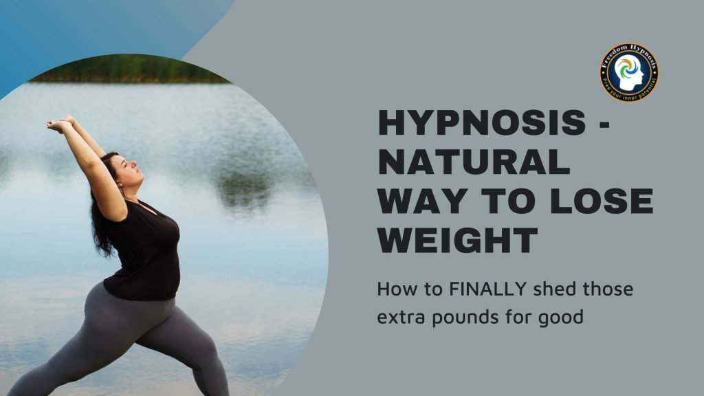 woman doing yoga to lose weight naturally with hypnosis