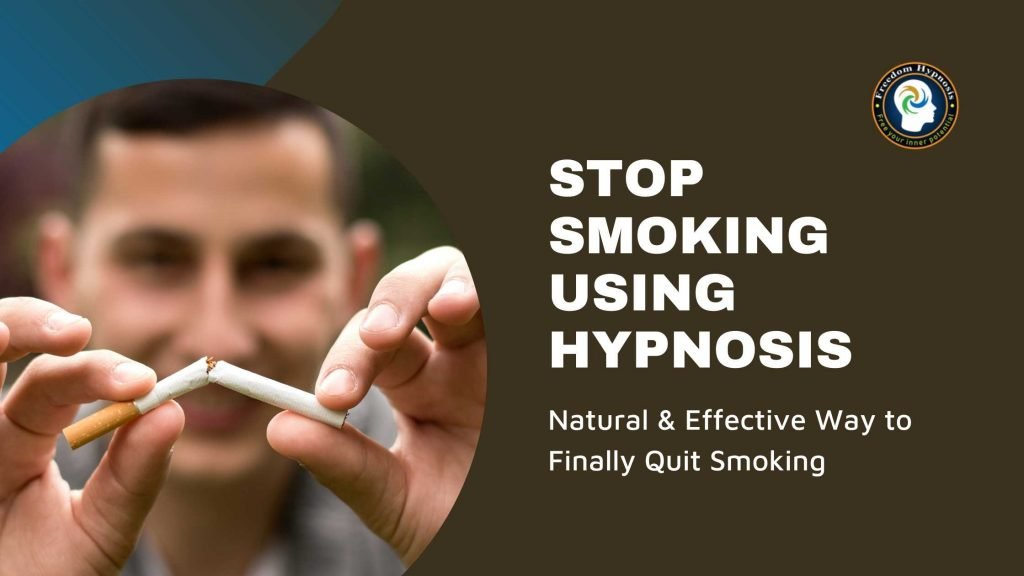 man who stop smoking permanently through hypnosis NYC sessions